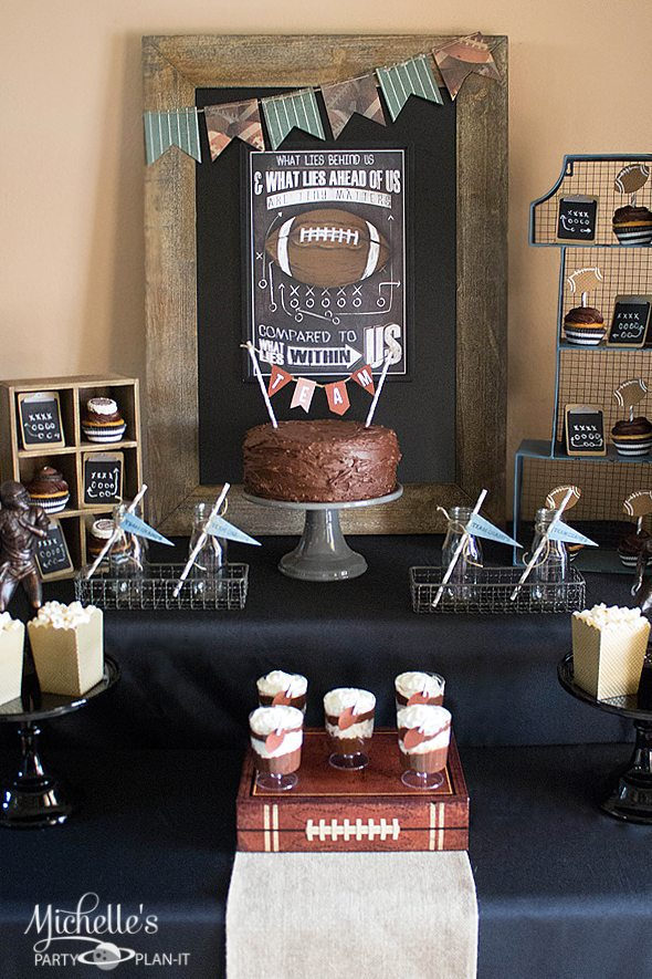 Score Big With A Vintage Football Party Michelles Party Plan It