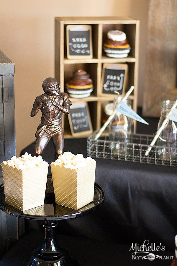 Vintage Football Party Tablescape