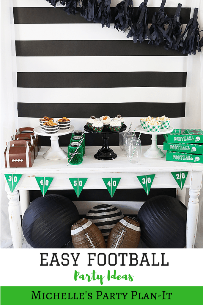 Football Snack Table Ideas for the Big Game