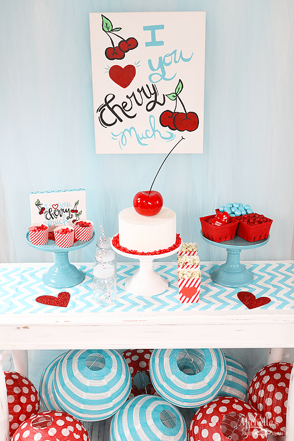 """I love you cherry much"" Valentines Day Party Theme by Michelle Stewart"
