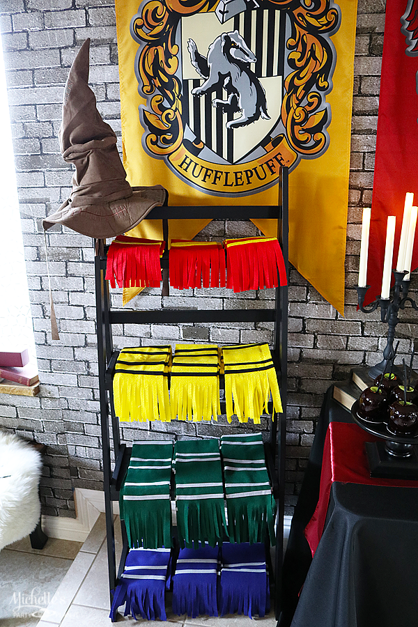 Handmade Harry Potter Scarves