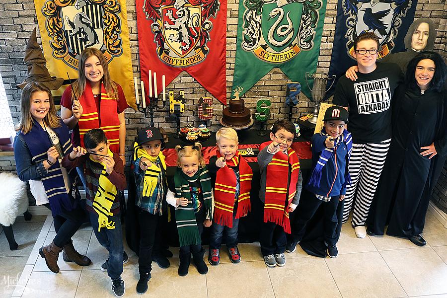 Hogwarts Students House Scarves