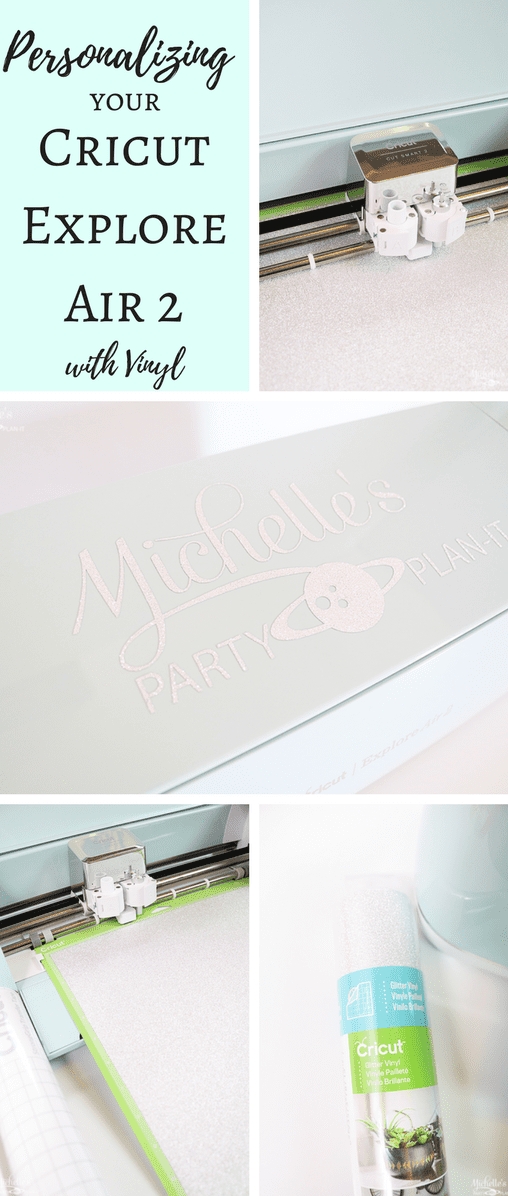 How to personalize your Cricut Explore Air 2