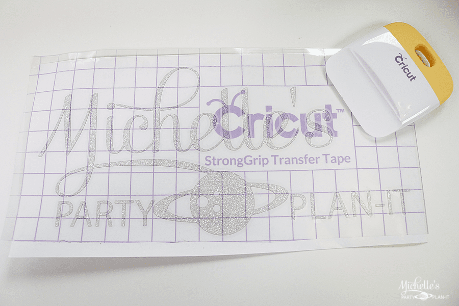 How to personalize your Cricut Explore Air 2 - rub in