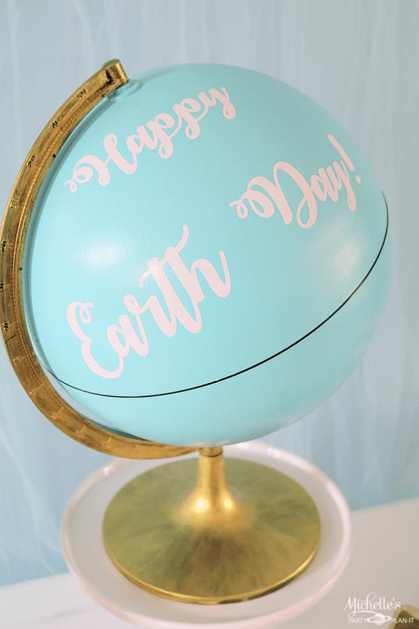 Earth Day Party Ideas - DIY Globe