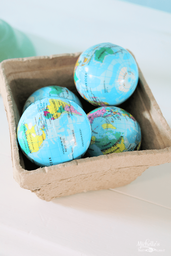 Earth Day Party Ideas - Earth Balls