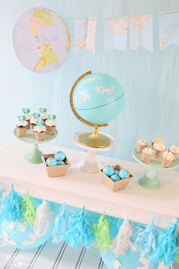 Earth Day Party Ideas - Tablescape