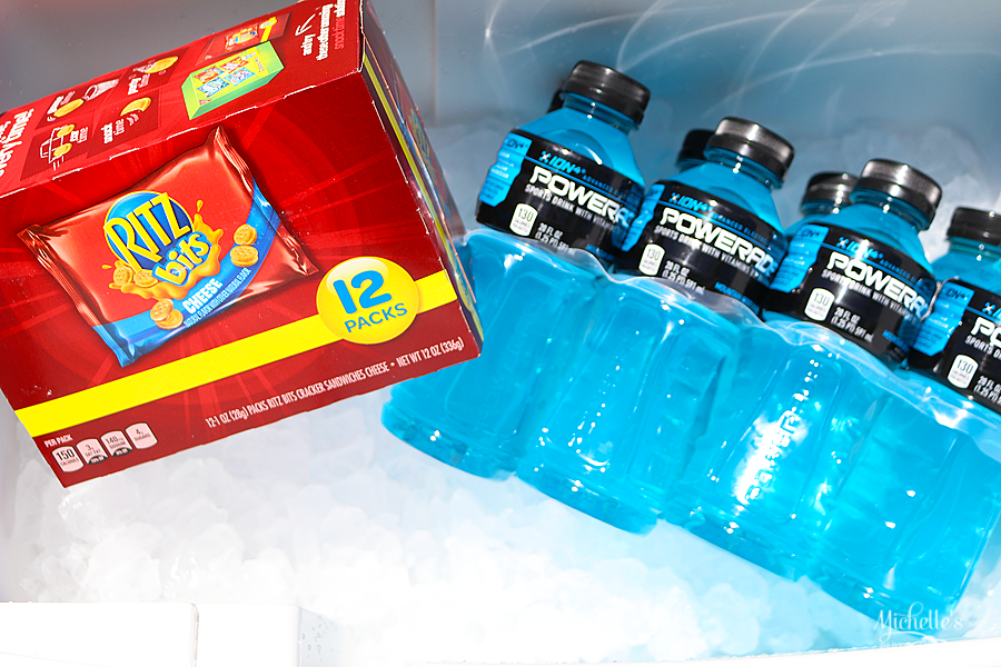How To Pack A Sideline Cooler with Powerade and Ritz