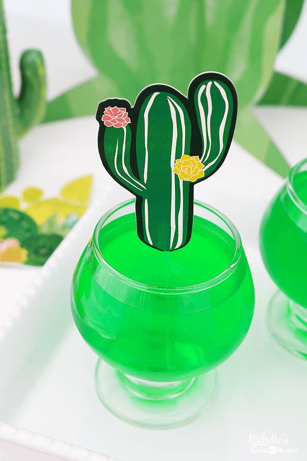 Cute Cactus Jello