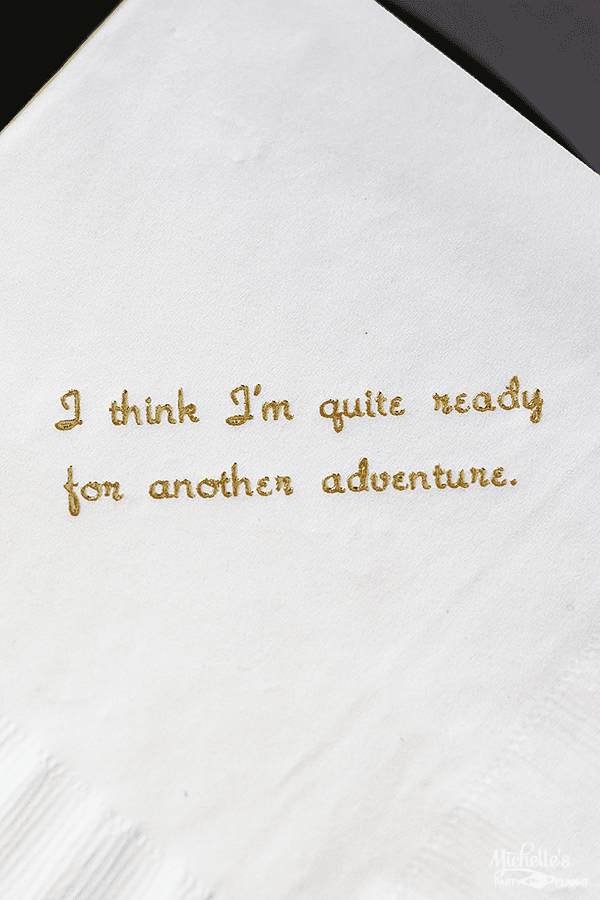 Lord of the Rings Party Napkins - Lord of The Rings Party Ideas