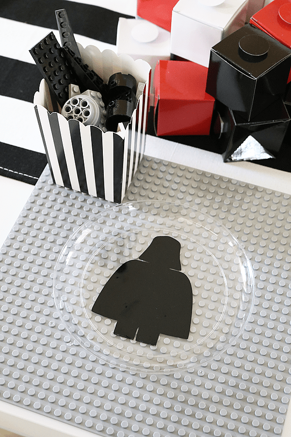 Star Wars Lego Party Place Settings