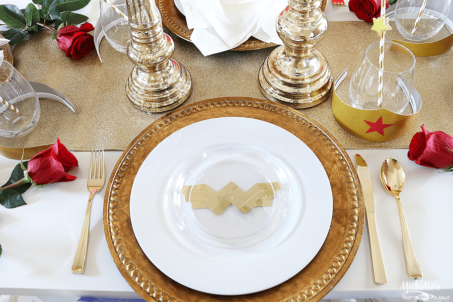 Wonder Woman Bridal Shower Ideas