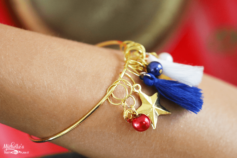 Whip It Up Wednesday Wonder Woman Charm Bracelet
