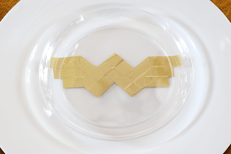 DIY Wonder Woman Party Plates | Whip It Up Wednesday