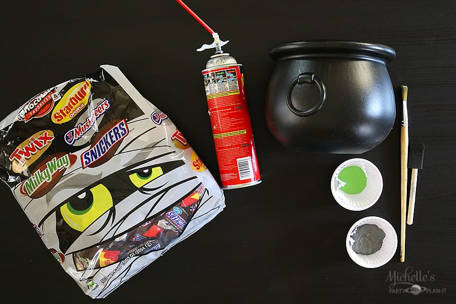 DIY Bubbling Witches' Cauldron supply