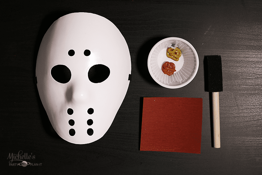 DIY Friday the 13th Mask Supplies