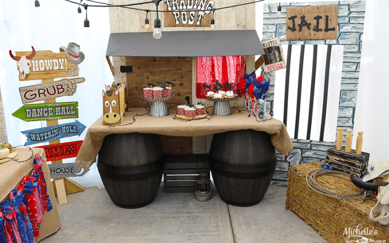Wild West Cowboy Birthday Party