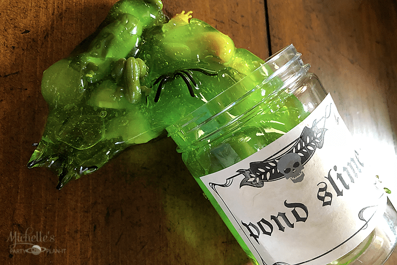 Harry Potter Inspired Pond Slime Recipe