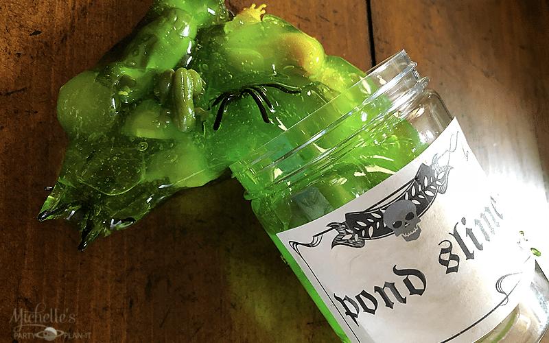 Harry potter inspired pond slime recipe 6