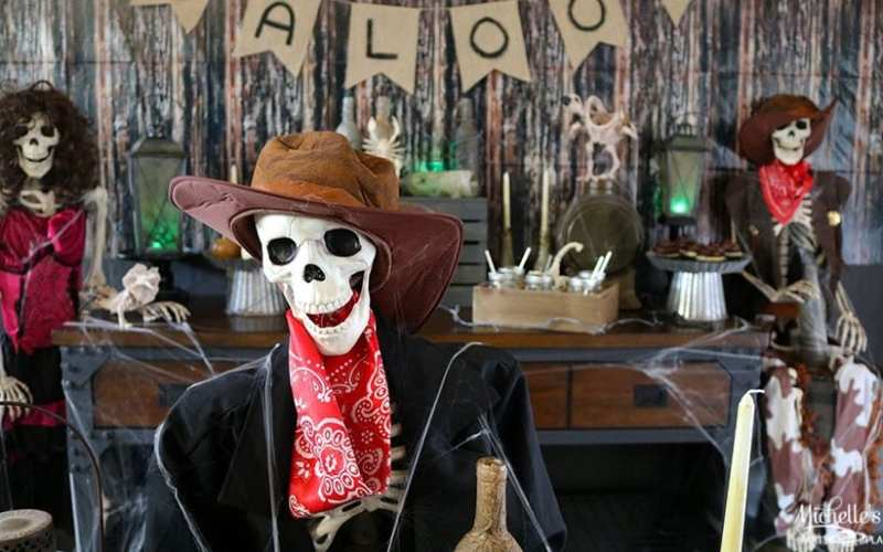 Haunted Ghost Town Halloween Party