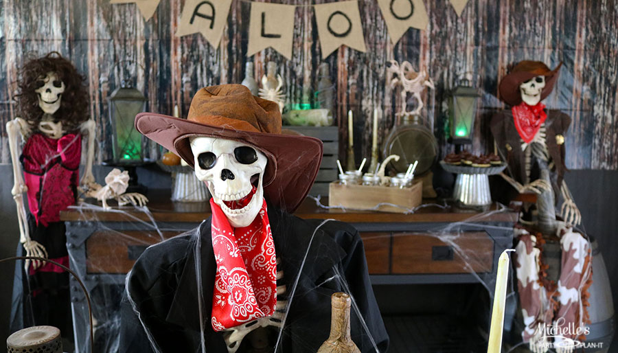 Haunted Ghost Town Halloween Party Ideas