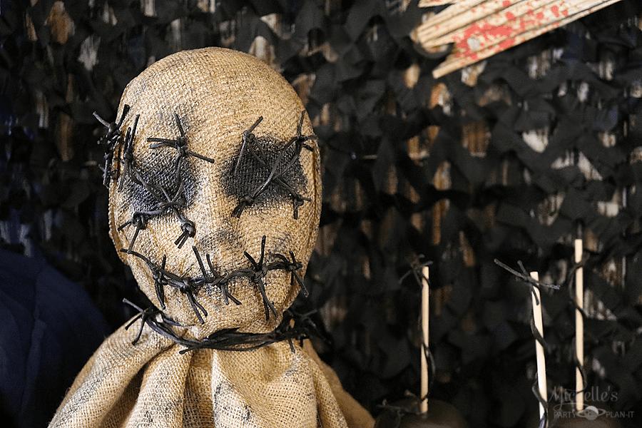 DIY Horror Movie Scarecrow by Michelle Stewart