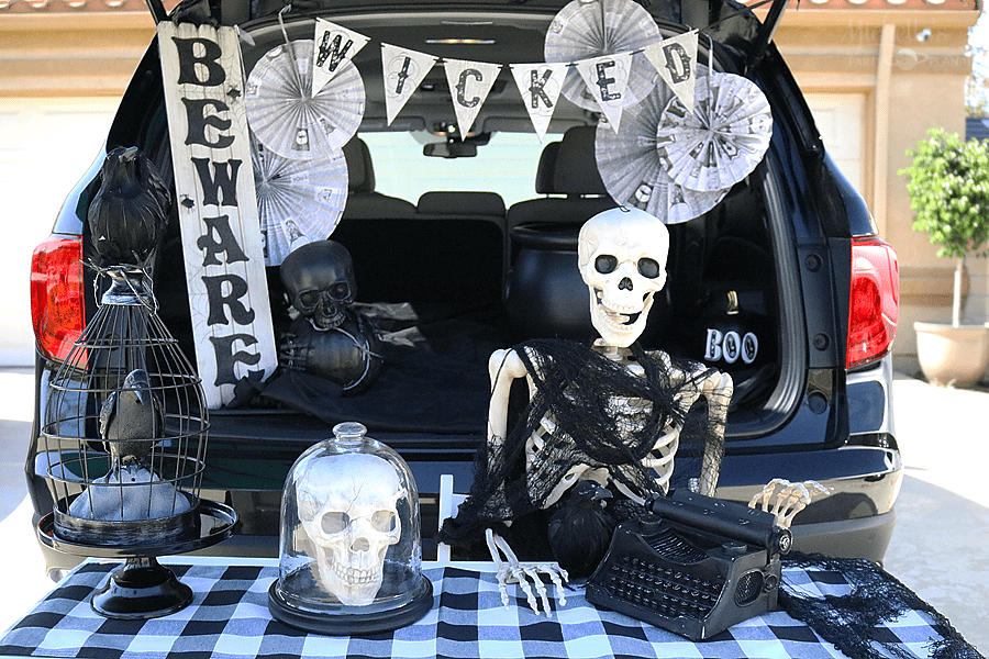 Trunk Or Treat Ideas The Working Dead Michelle S Party