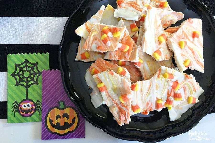 candy corn bark recipe