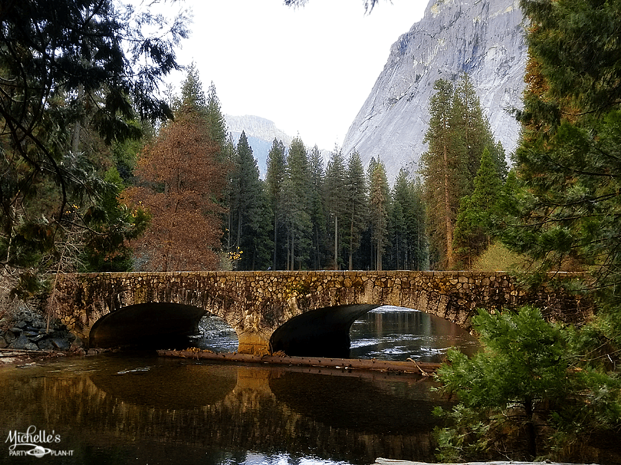 Ahwahnee Bridge Merced River