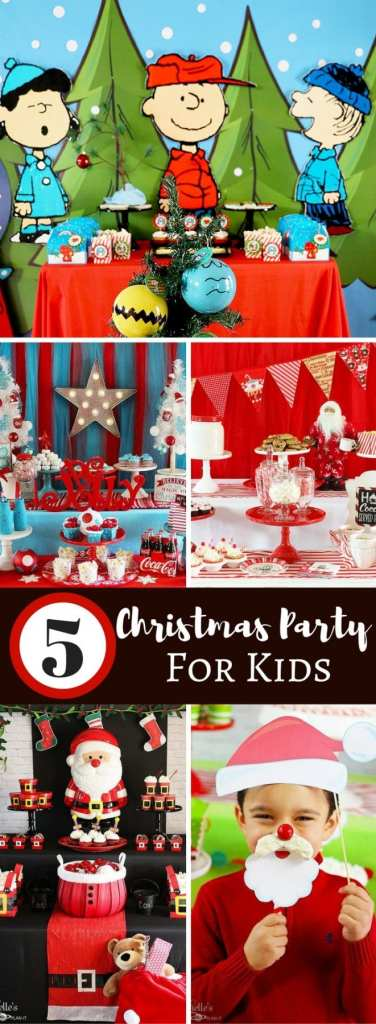 Christmas Party Ideas for Kids