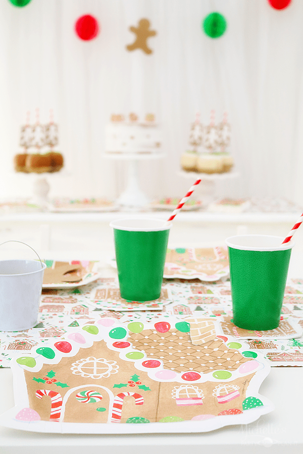 Gingerbread Man Party Table