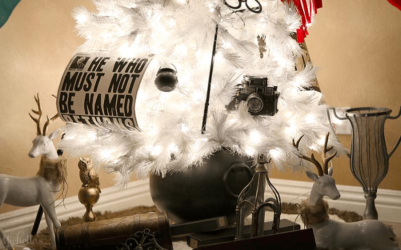 Harry potter christmas tree 1