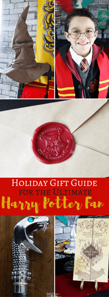 Holiday Gift Guide for the Ultimate Harry Potter Fan