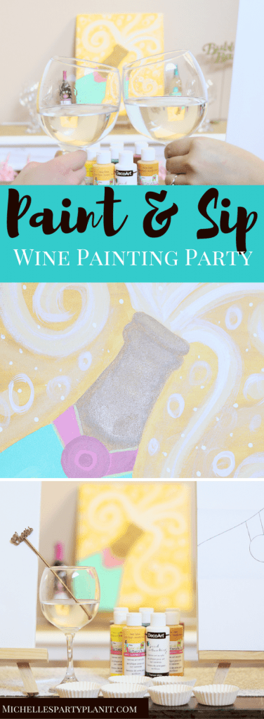 Paint & Sip Wine Painting Party