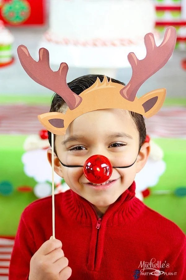 Rudolph Photo Props