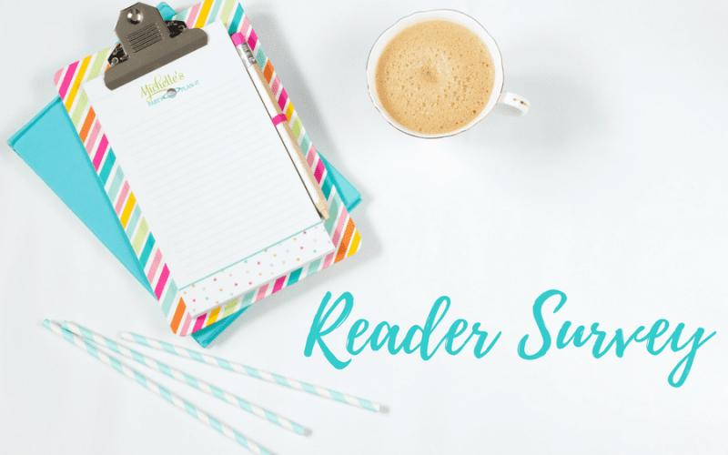 Reader survey 1