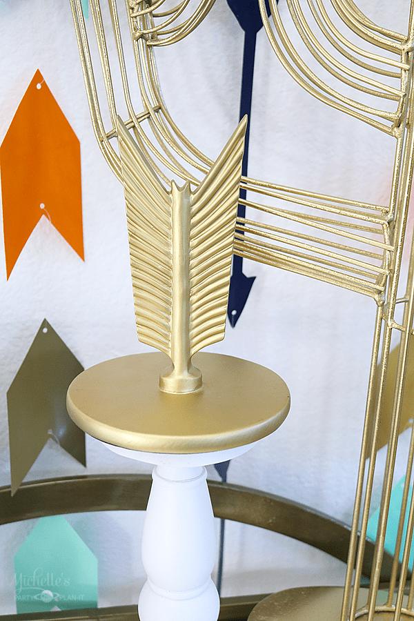 Gold Arrow Decor