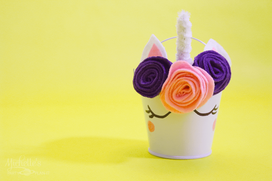 How to Make a Unicorn Party Favor Pail