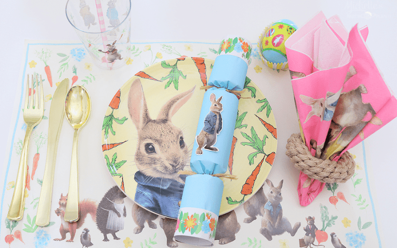 Easter Entertaining with Peter Rabbit