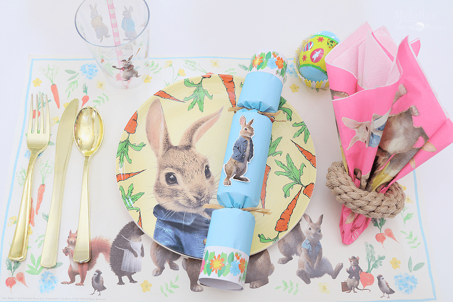 Peter Rabbit and Cost Plus World Market - Tabletop decorations