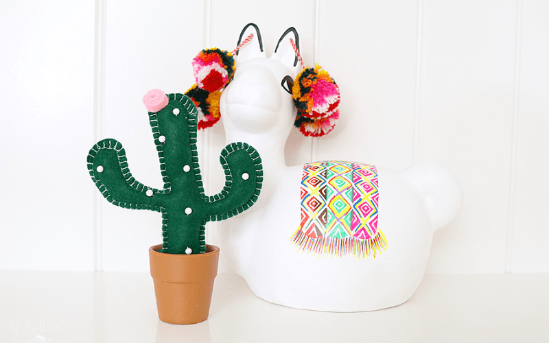 DIY Cactus Pin Cushion
