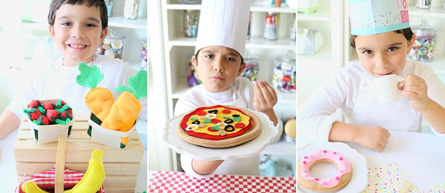 How to Make Felt Food for Imaginative Play