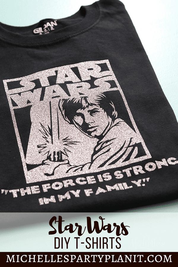 DIY Star Wars Shirt Ideas