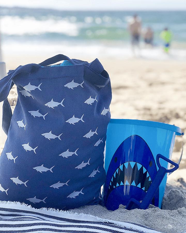 DIY Shark Tote