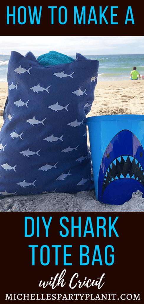 How to make a DIY Shark Tote