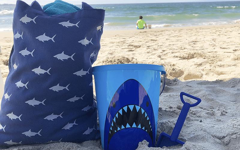 Shark tote