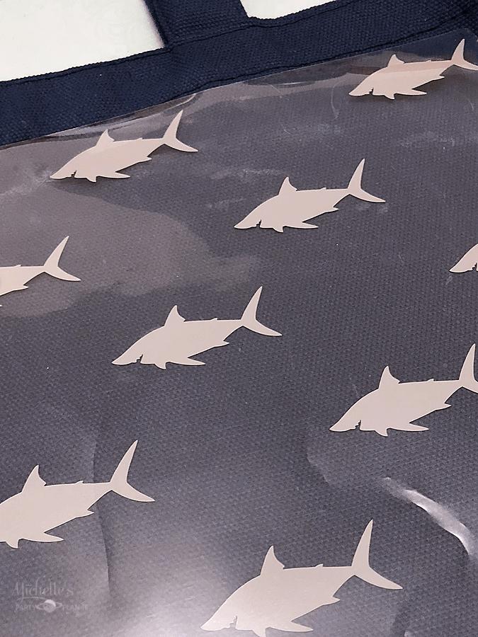 diy shark iron on