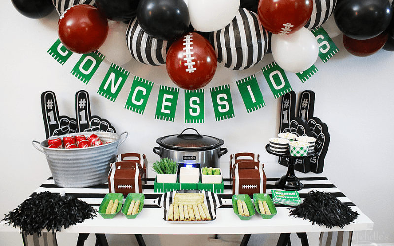 How to Plan the Ultimate Fall Football Party