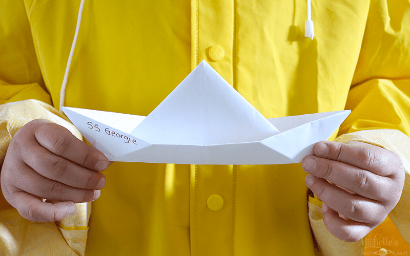 How to Make Georgie's Paper Boat from IT