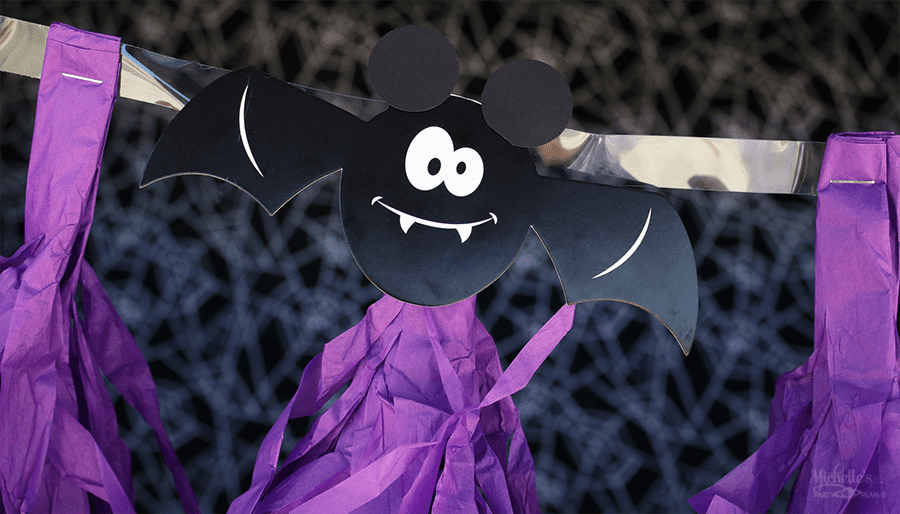 mickeys halloween trunk or treat banner